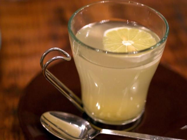ホットレモンの写真