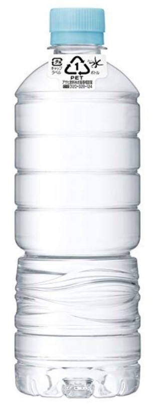 アサヒおいしい水ラベルレス